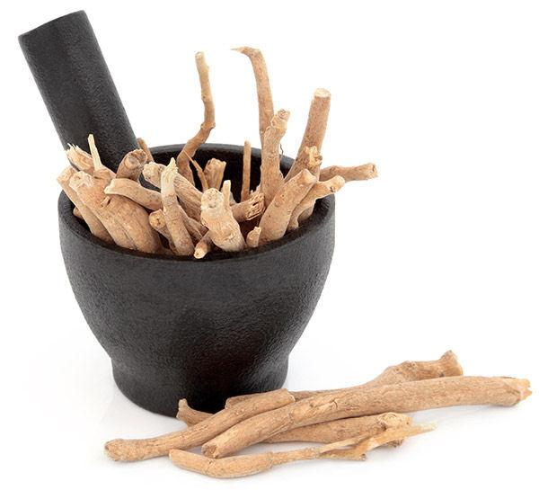 Ashwagandha root for women's health