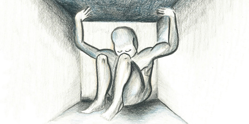 claustrophobia, fear of confined place