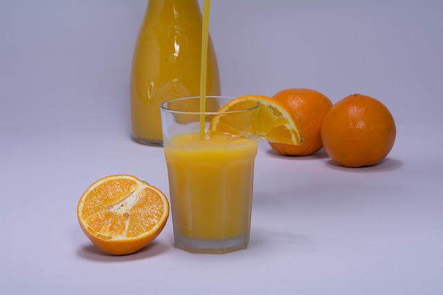 orange juice for iron supplement